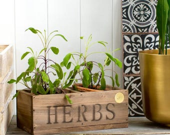 Personalised Herb Planter