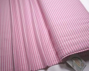 Jersey Little Darling rose white striped 0.54yd (0,5m) 003782