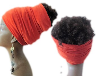 Solid Locs- Hair Hugger - Dread Locs Socks-Women Headbands- Boho- Hippi- Choose a Length