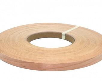 """Cherry non glued ( 1/2"""" TO 3""""X500"""" ) wood veneer edgebanding"""