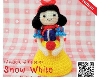 PDF Pattern - Amigurumi Snow White