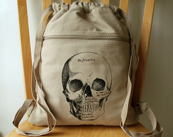 Skull Backpack, Bag for Men, Laptop Bag, Bag for Women