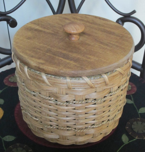 Toilet Paper Basket Single Roll Storage Basket Handwoven