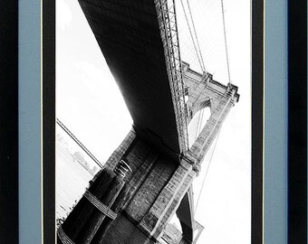 Brooklyn Bridge Photography Poster Rainbow of Steel