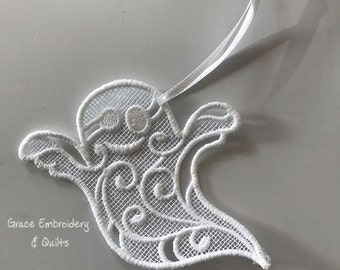 Lace Ghost Ornament