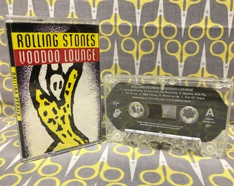 Voodoo Lounge by The Rolling Stones Cassette Tape rock