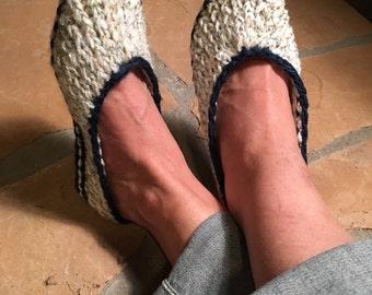 Ballet Flats - a loom knit pattern