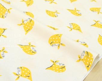 Japanese Fabric Kerchief Girls - yellow - 50cm