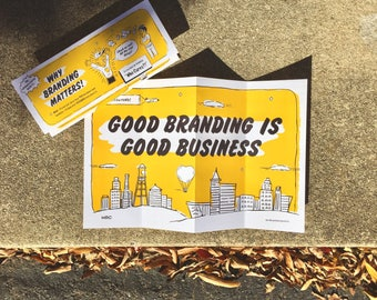 Poster & Guide! How to Brand your Business + Grow your Customers