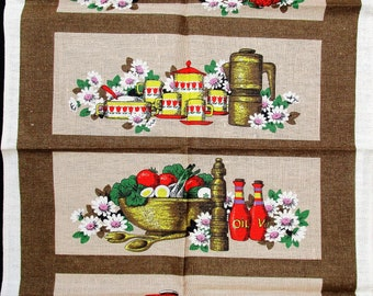 Save The Children.irish Linen Tea Towel. Browns