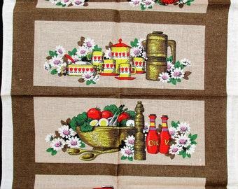 Save The Children.irish Linen Tea Towel. Browns