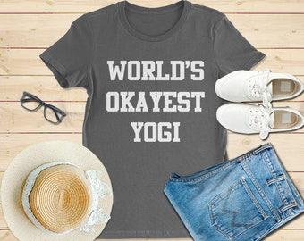 Yoga shirt, world yokayest yogi shirt, yoga t shirt, yoga tshirt, yoga gift, shirt for yoga, gift for yoga, yogi shirt, yoga funny shirts
