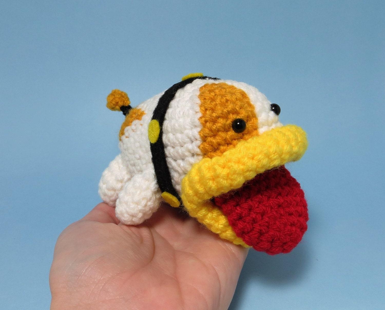 Amigurumi Nintendo : Poochy amigurumi crochet pattern yoshi s woolly world from