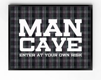 wall art printable, man cave art, printable art, men, wall decor, home decor, office decor, wall art for men, instant download, typography