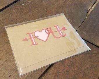 I Heart U Valentine