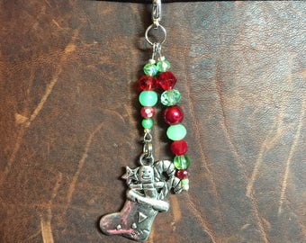 Filled Stocking Planner Charm