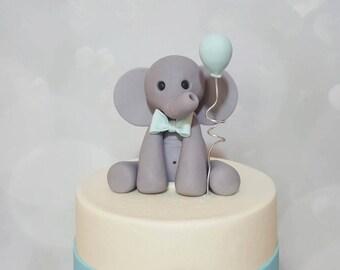Elephant Cake Topper ( Gumpaste )