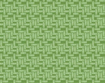 SALE J is for Jeep Tires Green - Riley Blake Designs - Tone on Tone Wheels - Quilting Cotton Fabric - choose your cut
