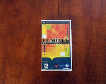 Lumines Puzzle Fusion Custom PSP Case (***No Game***)