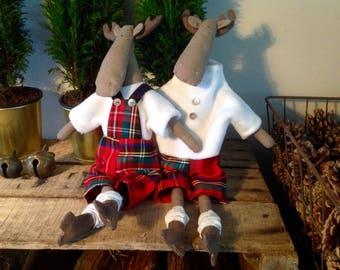 Tilda doll, Scottish reindeer