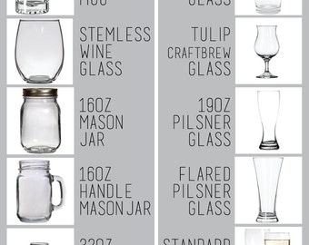 Awesome Etched Glass, Etched Beer Glass, Custom Pint Glass, Etched Wine Glass,  Custom