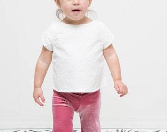 2T Velvet Bell Bottoms- Kids Clothes Size 2T DUSTY ROSE