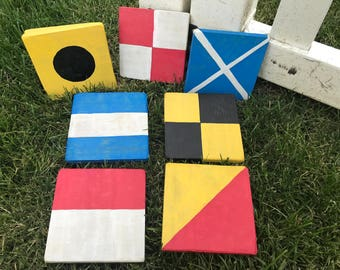 Nautical Flag Signs