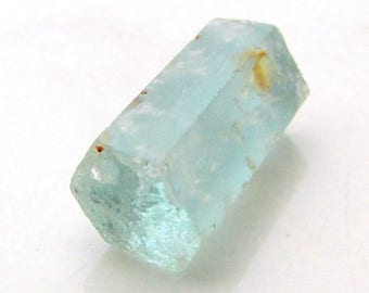 9.5ct Aquamarine Crystal - Raw Natural Beryl Crystal Mineral Specimen Wire Wrapping