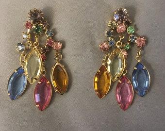 Chandelier Earrings by Swarovski Crystal