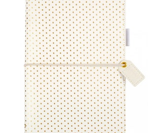 Websters Pages Gold Dot Standard size Travelers Notebook
