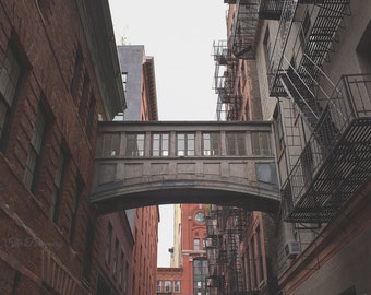 new york photography new york city decor nyc photography loft  architecture bridges urban decor large wall art gritty staples street bridge