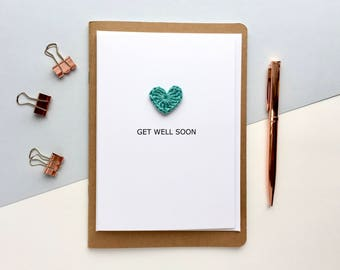 Get well soon card - Thinking of you card - Get well card - Under the weather card - Get better soon card
