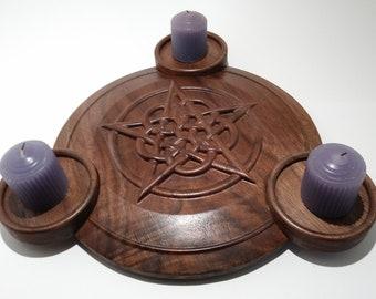 3 Candle Candelabra Centerpiece