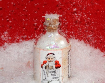 Genuine North Pole Snow | Snow from the North Pole | Bottled Snow | Santa's Snow | Snow Globe | North Pole