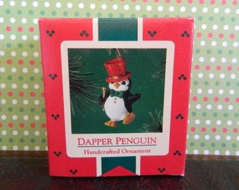 "Hallmark Keepsake Ornament ""Dapper Penguin"""