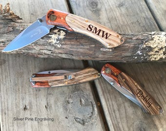 Brother Gift • Boyfriend Gift • Husband Gift • Gifts For Him • Mens Personalized • Pocket Knife • Gifts For Husband • Gift From Sister