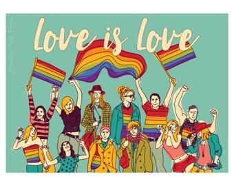 love poster gay