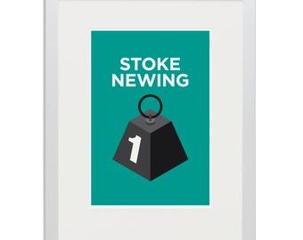 Stoke Newington Pâté - Giclée Art Print