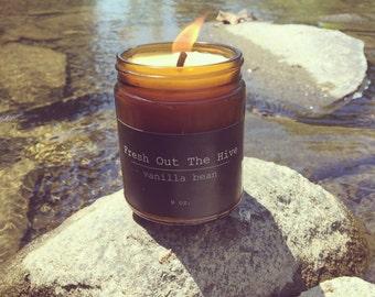 Vanilla Bean Beeswax Candle
