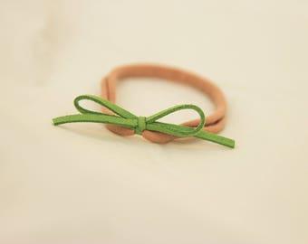 Green Nylon Headband