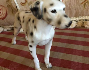 Country Dog lover Lefton Dalmatian statue