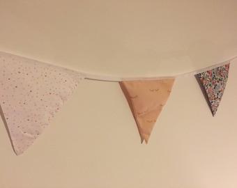 Garland pennants fabric