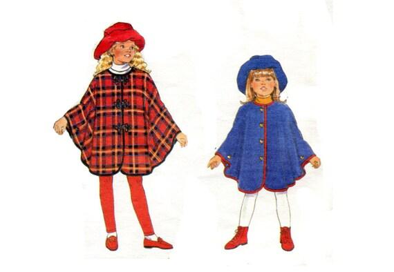 Mädchen einfach Cape und Hut Stovepipe Diskette süße passenden