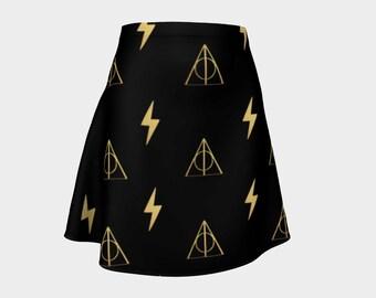Scar Hallows Flare Skirt