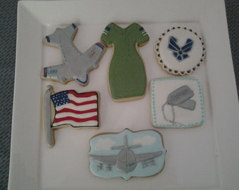 Appreciation Cookies to honor our Air Force Soldiers