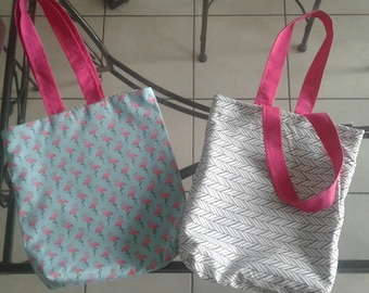 Beach bag / reversible Tote Bag