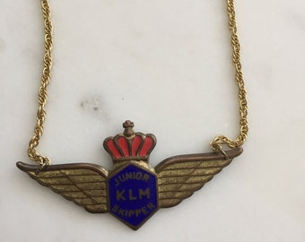 Gold Vintage Aviator Neckpiece