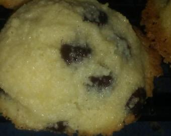 Gluten free, Dairy free Chocolate chip cookie