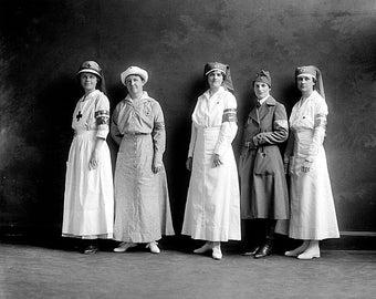 Red Cross Women 1900 Photo