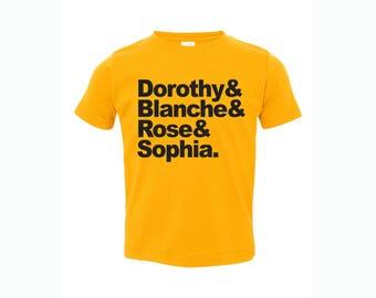 "Golden Girls ""names"" Infant T-Shirt"